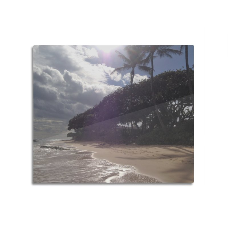 Shore Home Mounted Acrylic Print by Katie Schutte Art