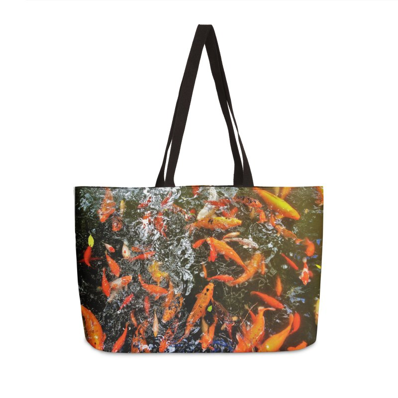 Koi Accessories Bag by Katie Schutte Art