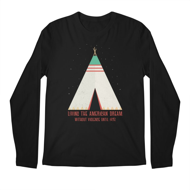 The American Nightmare Men's Longsleeve T-Shirt by KEIN DESIGN