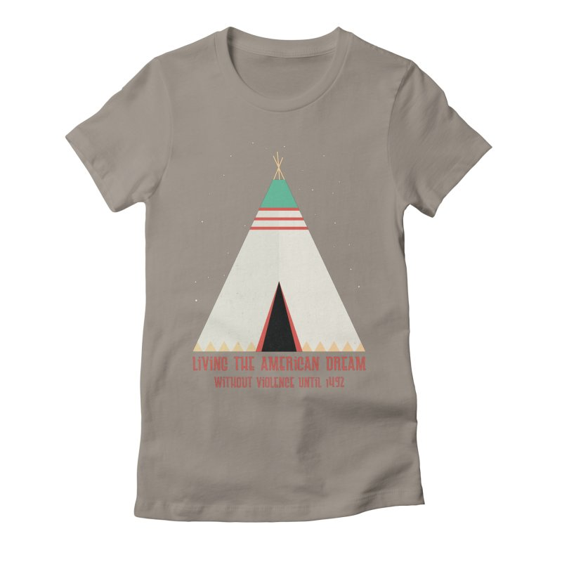 The American Nightmare Women's Fitted T-Shirt by KEIN DESIGN