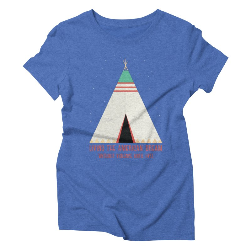 The American Nightmare Women's Triblend T-shirt by KEIN DESIGN