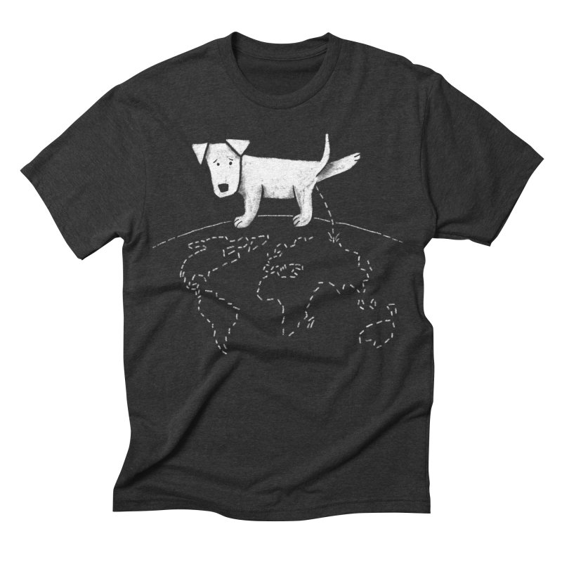 Geograpee Men's Triblend T-shirt by KEIN DESIGN
