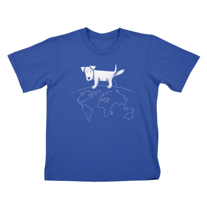 Geograpee Kids T-shirt by KEIN DESIGN