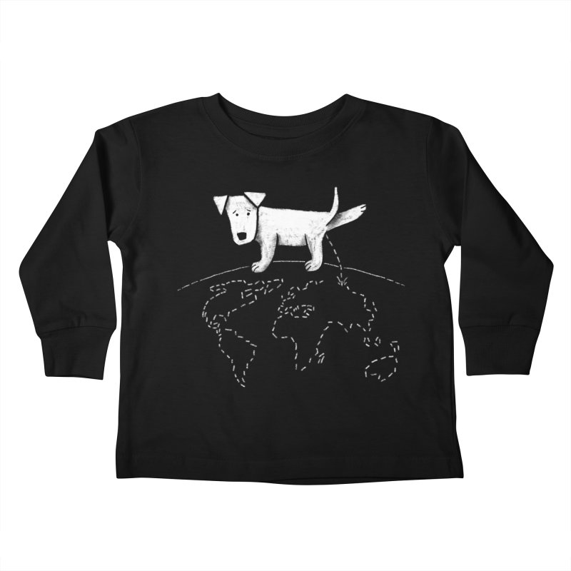 Geograpee Kids Toddler Longsleeve T-Shirt by KEIN DESIGN