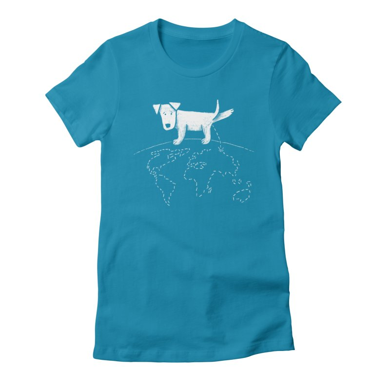 Geograpee Women's Fitted T-Shirt by KEIN DESIGN