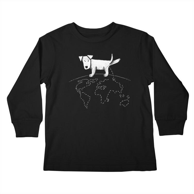 Geograpee Kids Longsleeve T-Shirt by KEIN DESIGN