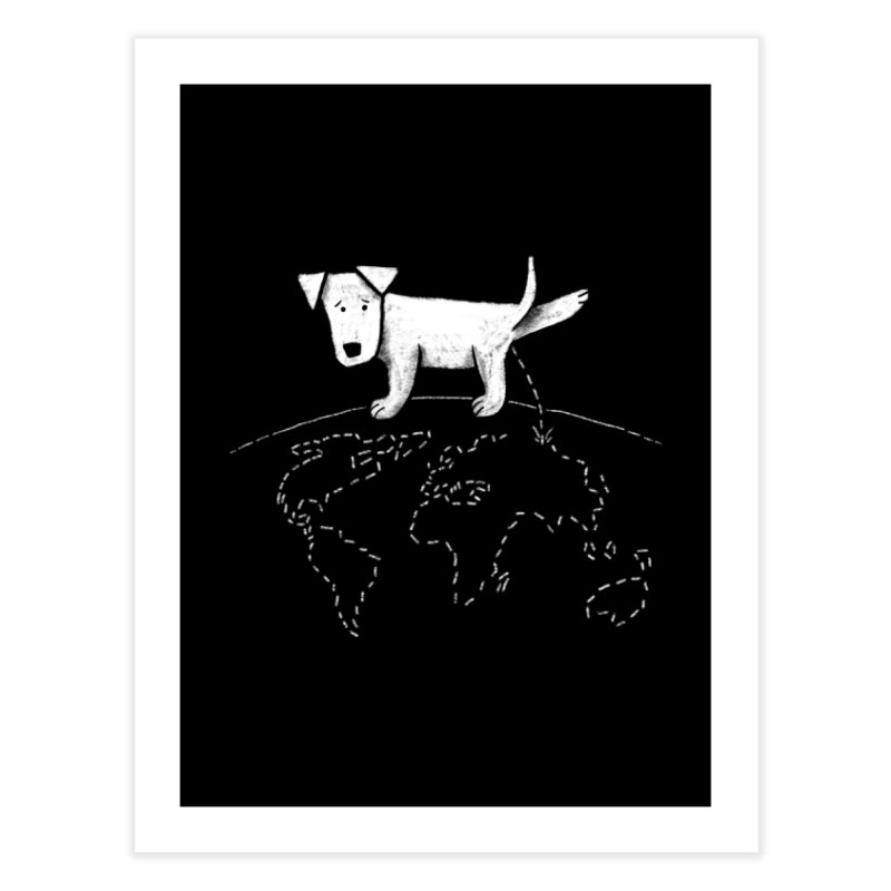 Geograpee Home Fine Art Print by KEIN DESIGN
