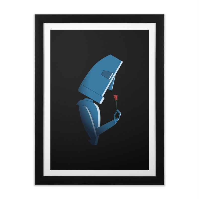 Tender Robot Home Framed Fine Art Print by KEIN DESIGN