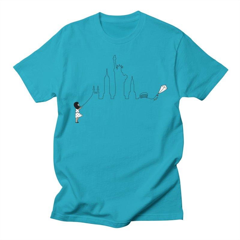 New York Kite Men's T-Shirt by KEIN DESIGN