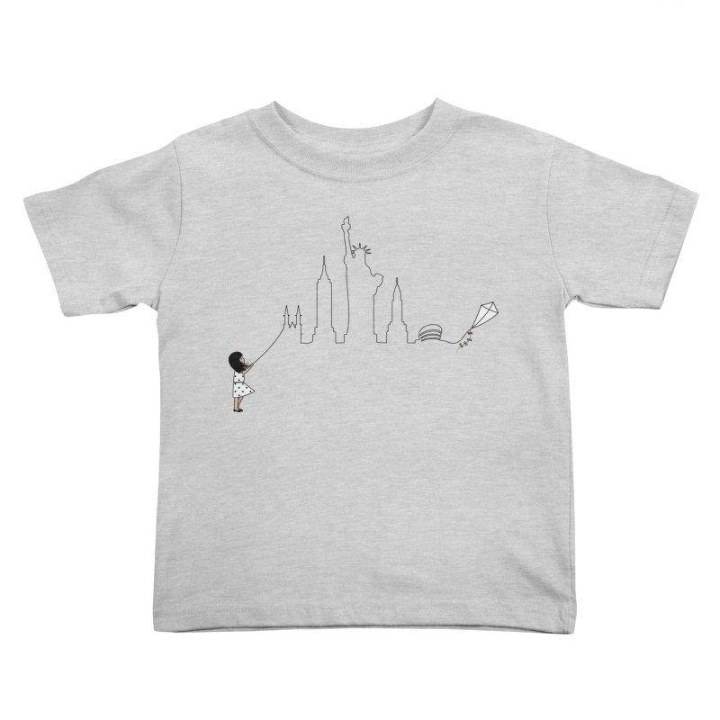 New York Kite Kids Toddler T-Shirt by KEIN DESIGN