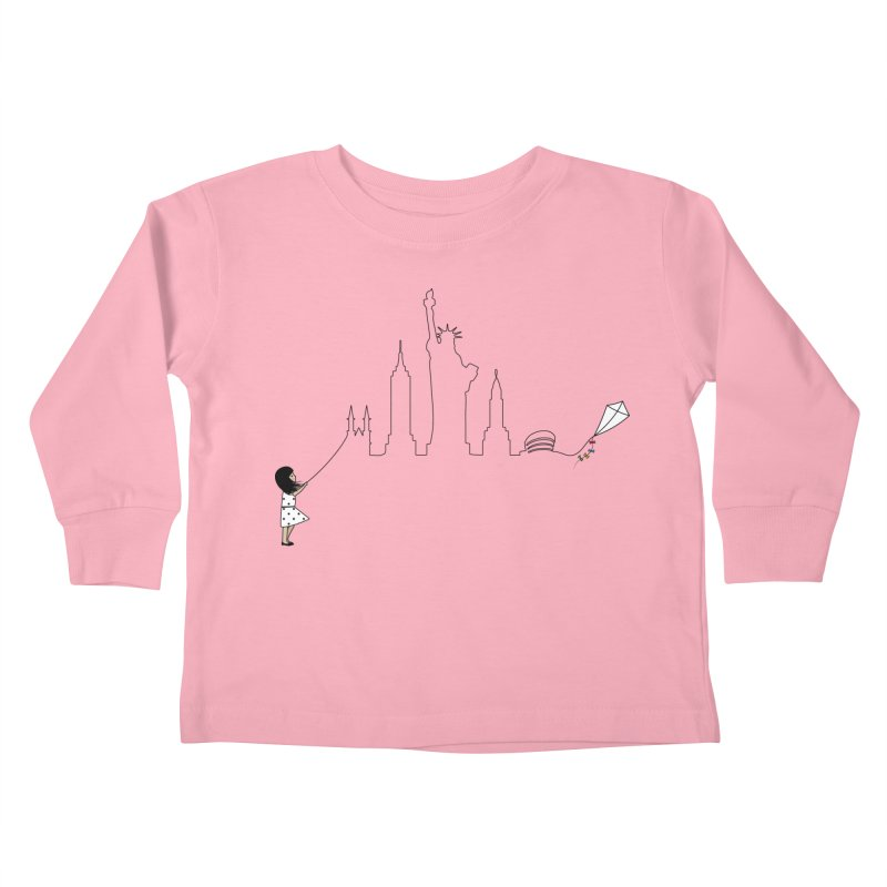 New York Kite Kids Toddler Longsleeve T-Shirt by KEIN DESIGN