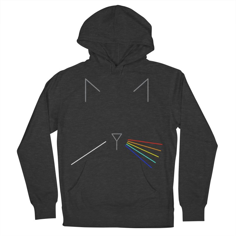 Dark Side of the Meow Men's Pullover Hoody by KEIN DESIGN