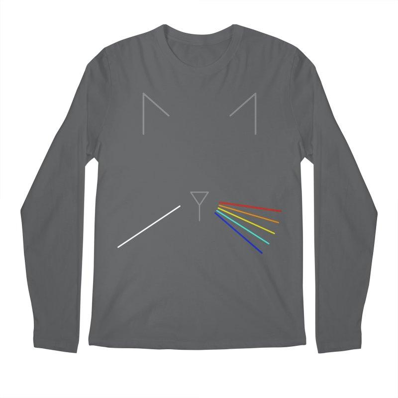 Dark Side of the Meow Men's Longsleeve T-Shirt by KEIN DESIGN