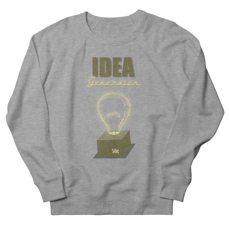 Idea Generator Women's Sweatshirt by KEIN DESIGN