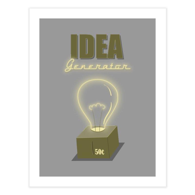 Idea Generator Home Fine Art Print by KEIN DESIGN