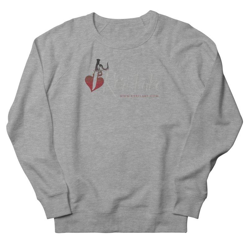 Keri Lake Logo - Gray Women's French Terry Sweatshirt by Keri Lake Author Shop