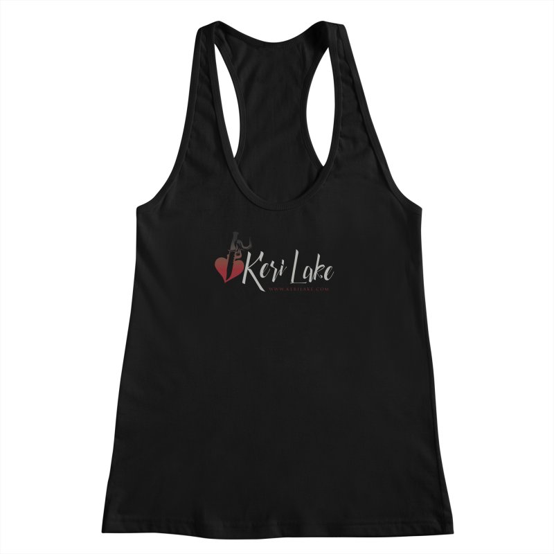 Keri Lake Logo - Gray Women's Racerback Tank by Keri Lake Author Shop