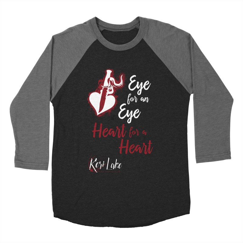 Eye For An Eye Women's Longsleeve T-Shirt by Keri Lake Author Shop