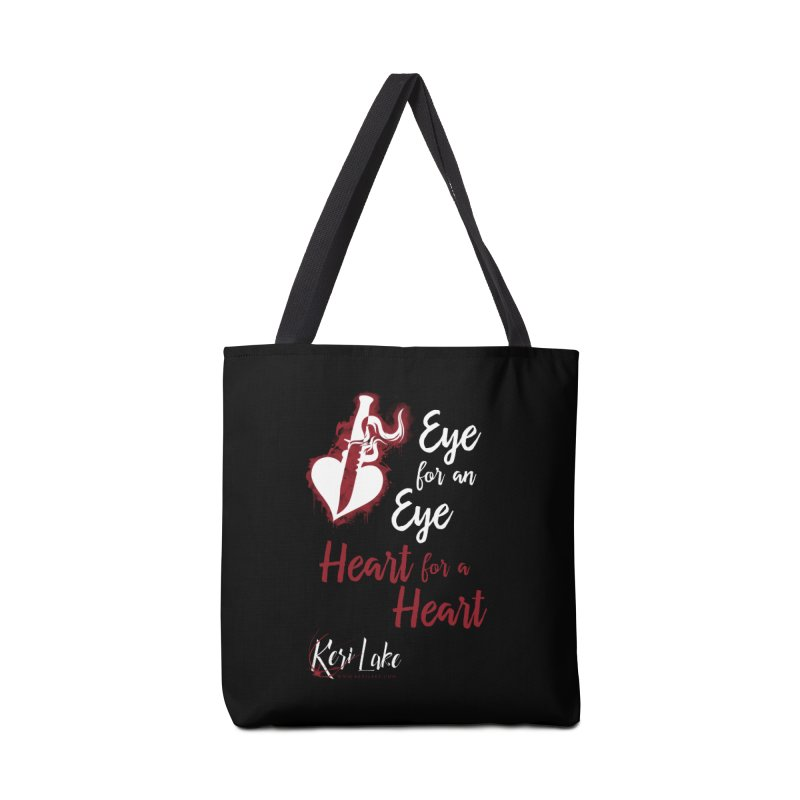 Eye For An Eye Accessories Tote Bag Bag by Keri Lake Author Shop