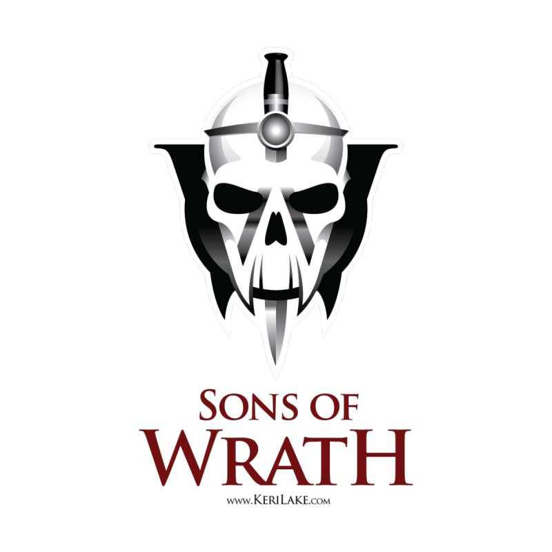 Sons Of Wrath Logo by Keri Lake Author Shop