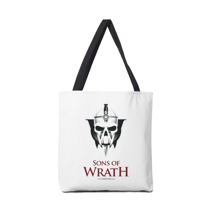 Sons Of Wrath Logo Accessories Tote Bag Bag by Keri Lake Author Shop