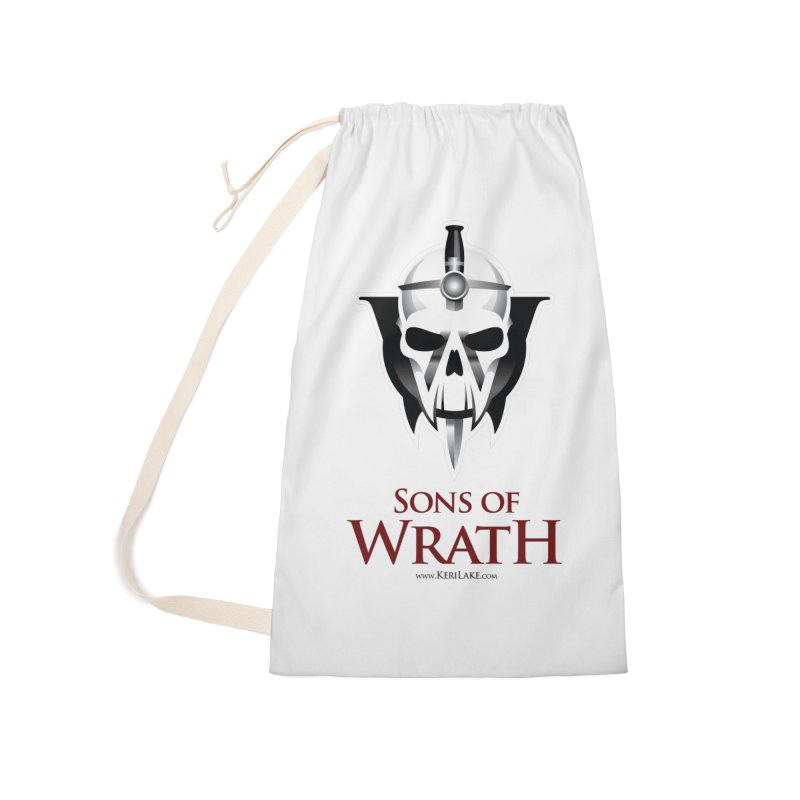 Sons Of Wrath Logo Accessories Laundry Bag Bag by Keri Lake Author Shop