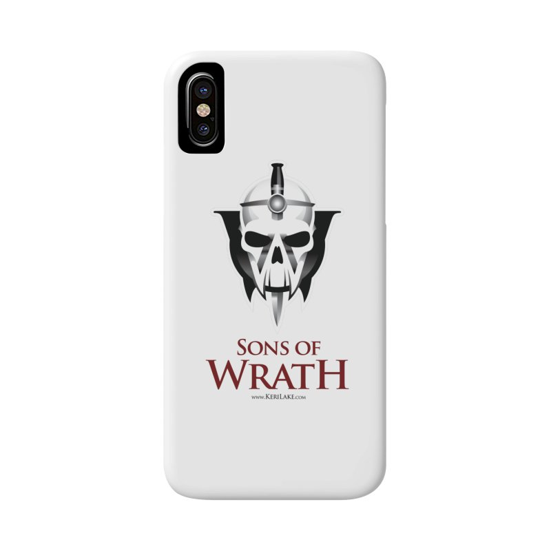 Sons Of Wrath Logo Accessories Phone Case by Keri Lake Author Shop