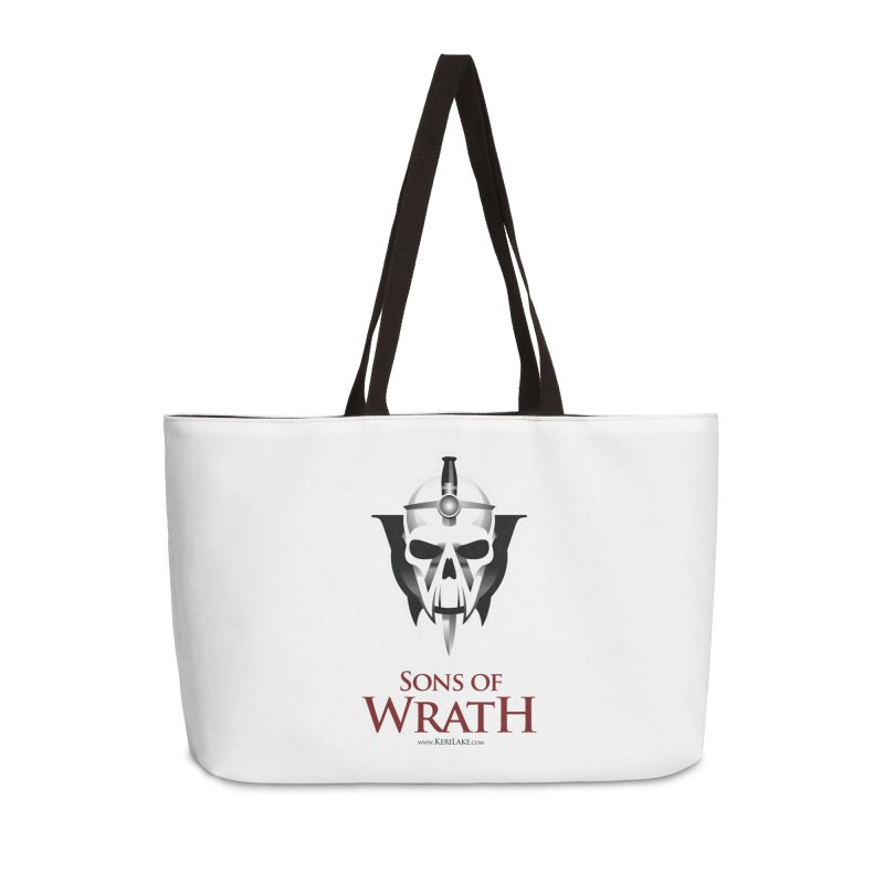 Sons Of Wrath Logo Accessories Weekender Bag Bag by Keri Lake Author Shop