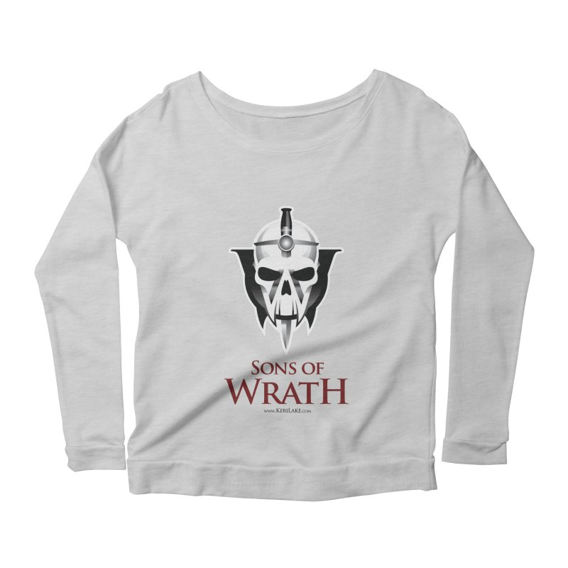 Sons Of Wrath Logo Women's Scoop Neck Longsleeve T-Shirt by Keri Lake Author Shop