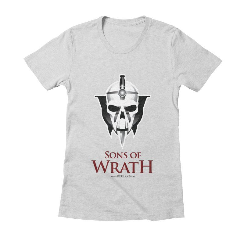 Sons Of Wrath Logo Women's Fitted T-Shirt by Keri Lake Author Shop