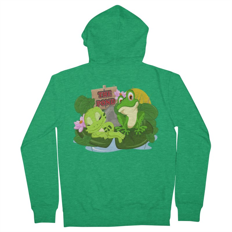 The Pond Official Logo by Kells Women's Zip-Up Hoody by Kerminator Official Merchandise