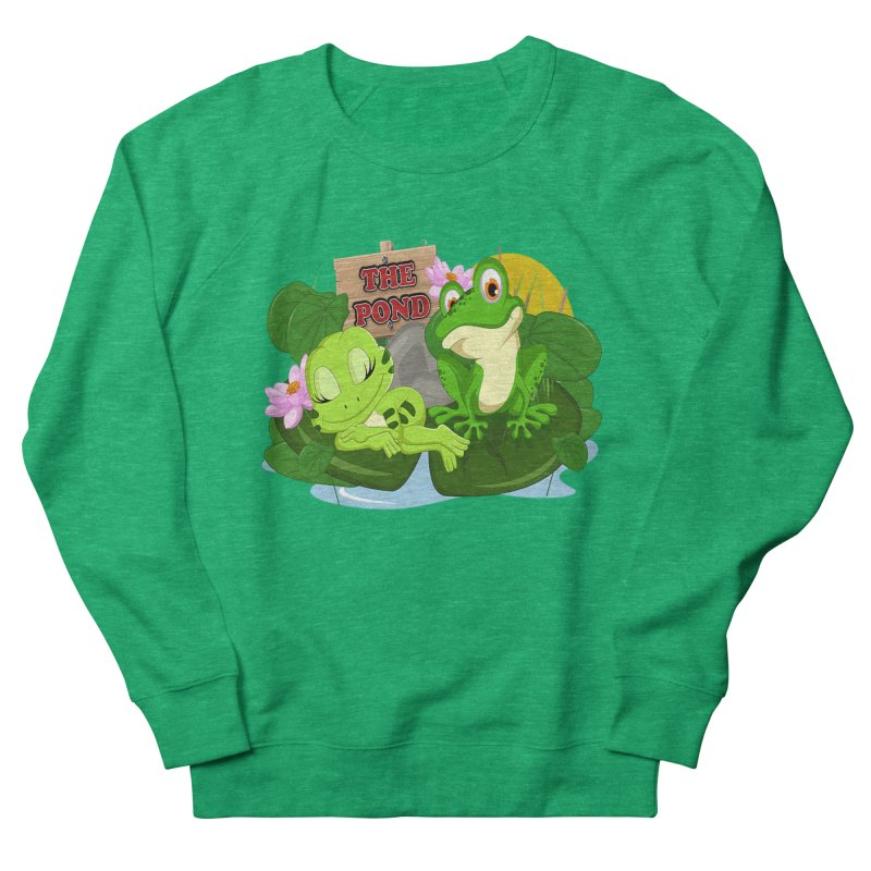 The Pond Official Logo by Kells Women's Sweatshirt by Kerminator Official Merchandise
