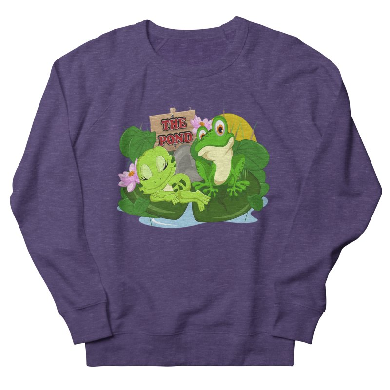 The Pond Official Logo by Kells Men's Sweatshirt by Kerminator Official Merchandise