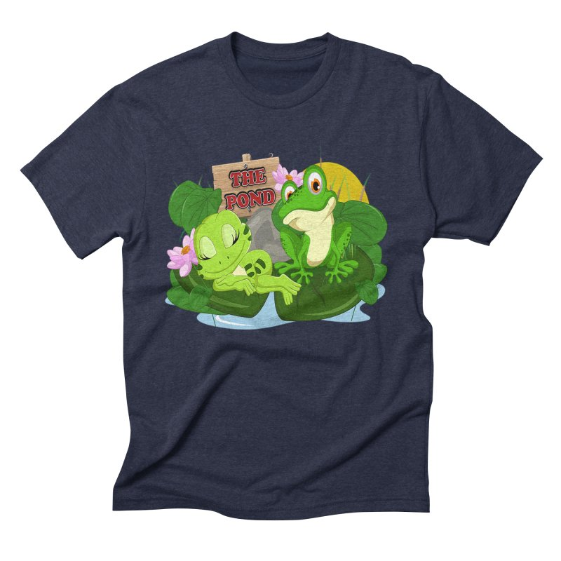 The Pond Official Logo by Kells Men's Triblend T-Shirt by Kerminator Official Merchandise