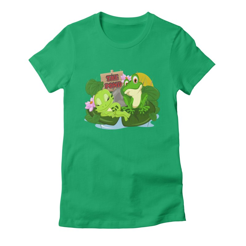 The Pond Official Logo by Kells Women's Fitted T-Shirt by Kerminator Official Merchandise