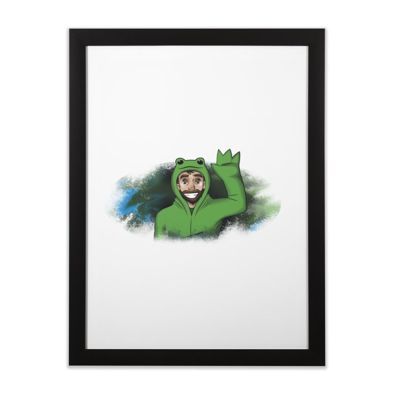 Kerminator Official Logo by Bee Home Framed Fine Art Print by Kerminator Official Merchandise