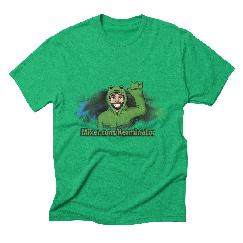 Kerminator Official Logo by Bee Men's Triblend T-Shirt by Kerminator Official Merchandise