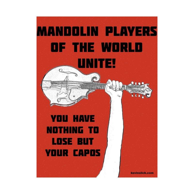 Mandolin Players Unite by KevinSlick's Artist Shop