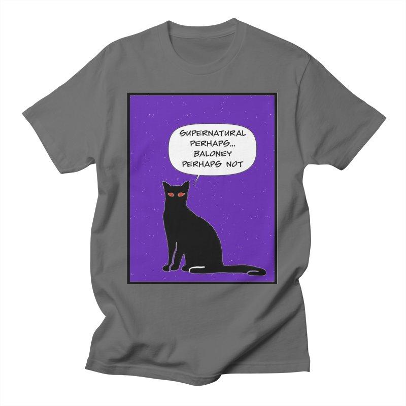 Supernatural Perhaps Men's T-Shirt by KevinSlick's Artist Shop