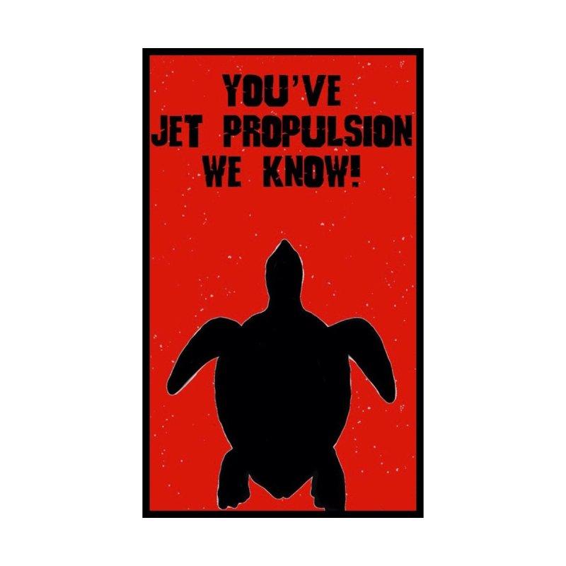 Jet Propulsion Men's T-Shirt by KevinSlick's Artist Shop