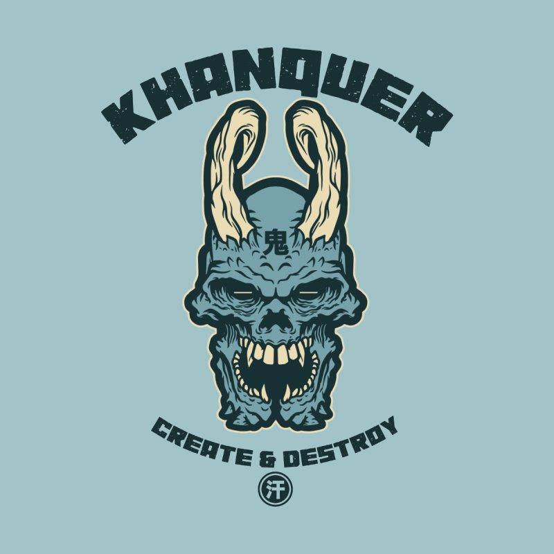 KHANQUER Oni Skull by KhanArt's Shop