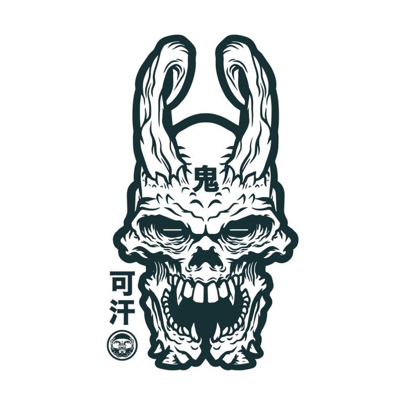 Twisted Oni Skull by KhanArt's Shop