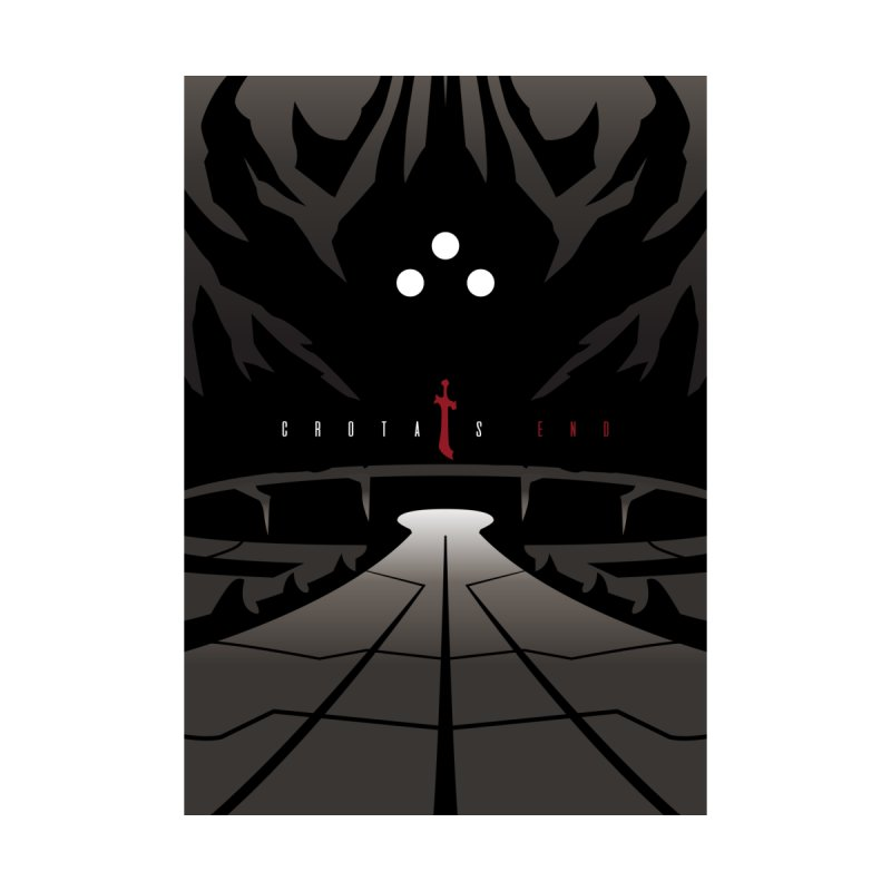 Crota's End Minimalist Poster by KhanArt's Shop