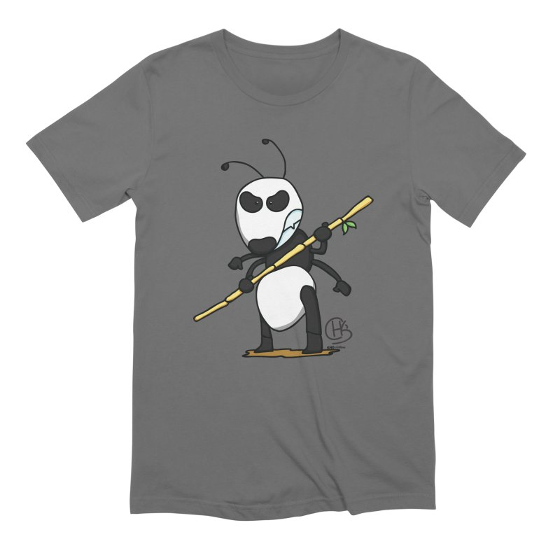 Panda Ant to the Rescue Men's T-Shirt by KhoCreations' Artist Shop