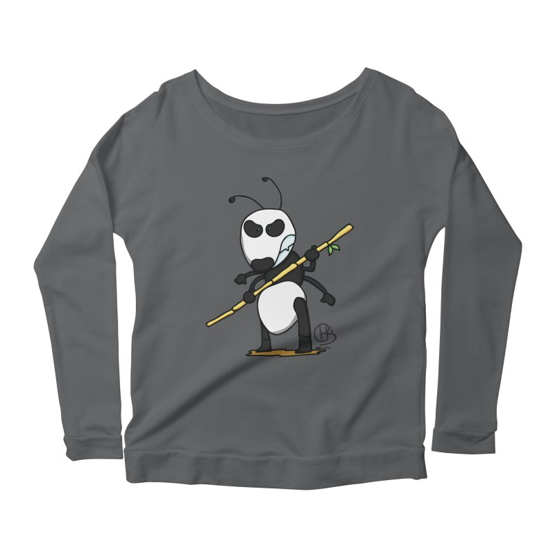Panda Ant to the Rescue Women's Longsleeve T-Shirt by KhoCreations' Artist Shop