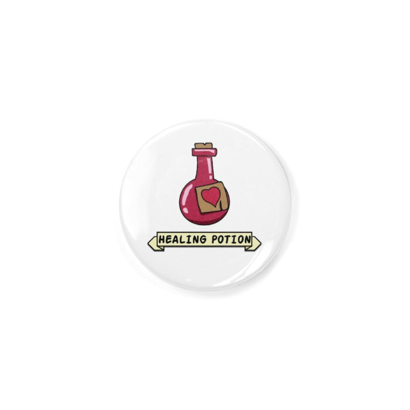 Time for some healing Accessories Button by KhoCreations' Artist Shop