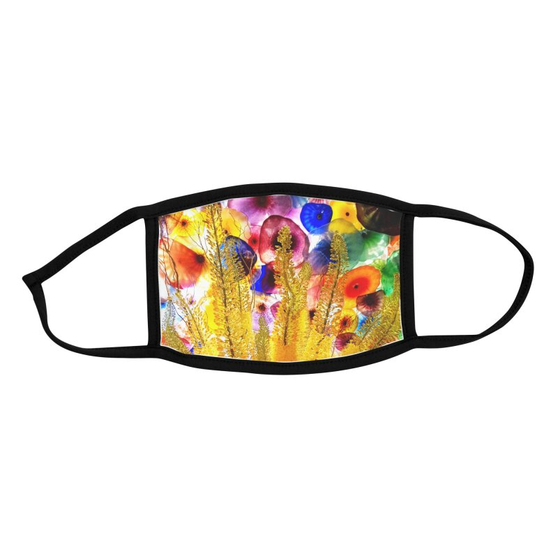 Mask Design - Floral Glow Accessories Face Mask by KhoCreations' Artist Shop