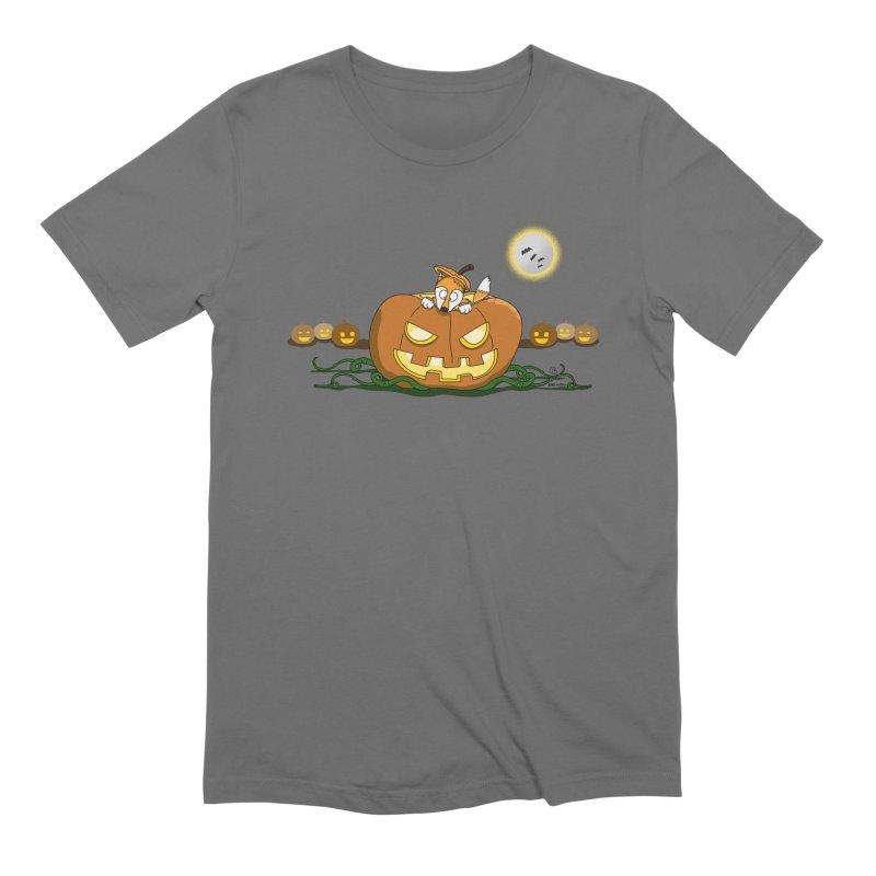 Hollowed Fox Men's T-Shirt by KhoCreations' Artist Shop