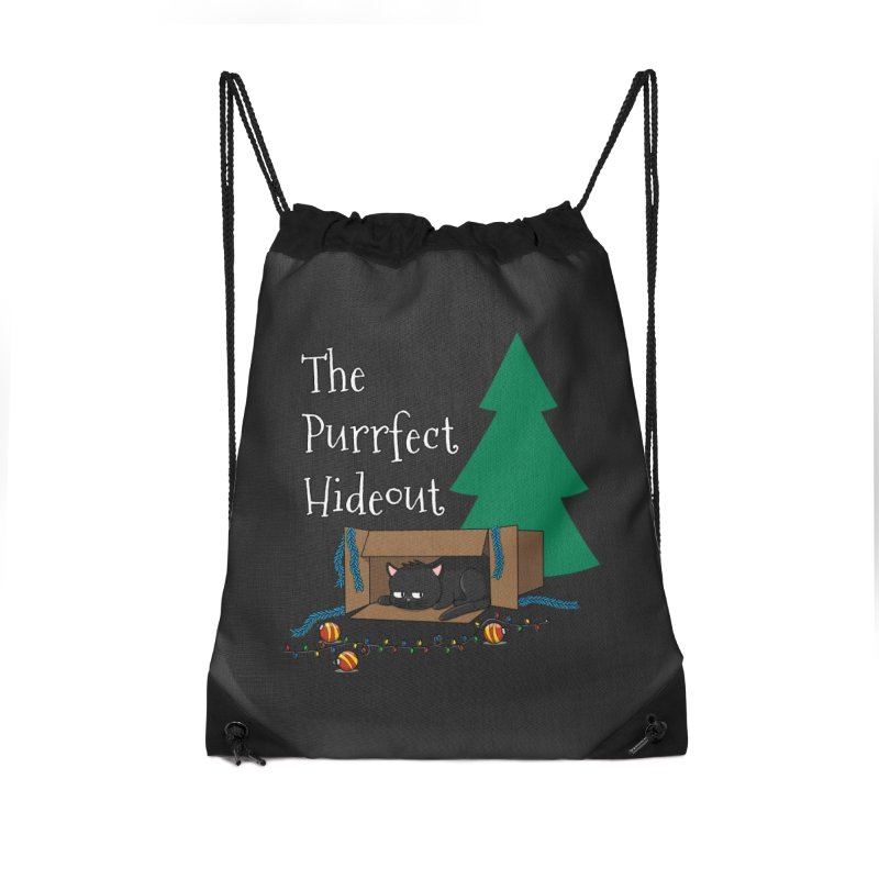 The Purrfect Hideout Accessories Bag by KhoCreations' Artist Shop