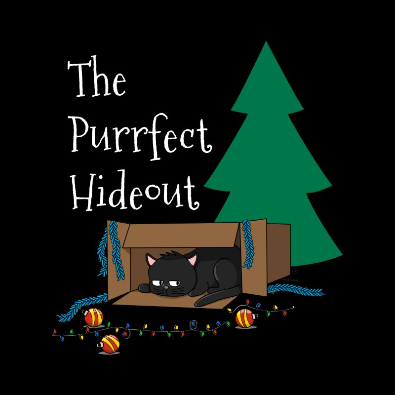 The Purrfect Hideout Accessories Sticker by KhoCreations' Artist Shop